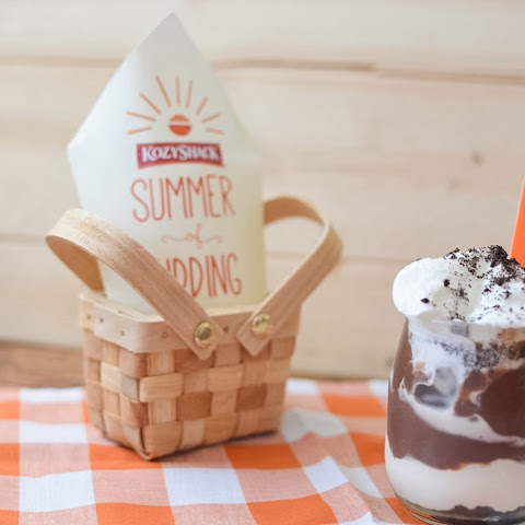 Kozy Shack Summer of Pudding Cookies and Chocolate Pudding Parfaits