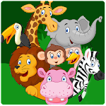 Draw line to match animals for kids Icon