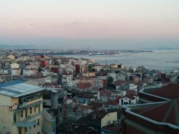Istanbul from 360 Restaurant