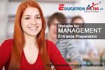 Website for Management Entrance Preparation