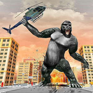 Angry Gorilla City Rampage For PC / Windows 7/8/10 / Mac – Free Download