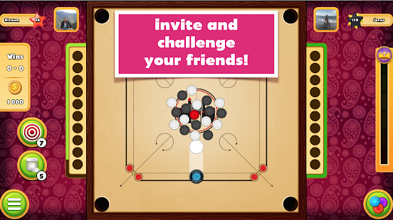 King of Carrom Screenshot