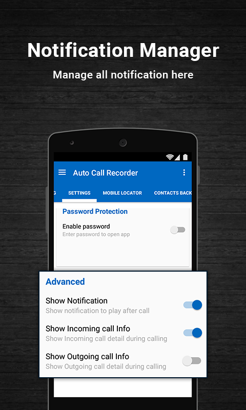 Auto Call Recoder PRO Screenshot 3
