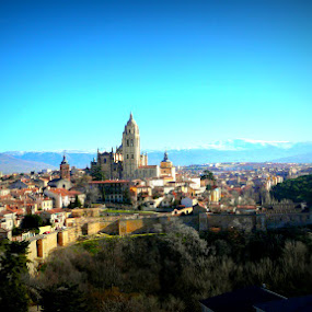 Segovia by Dhannya Jacob - Landscapes Travel ( monument, scenery, town, spain )