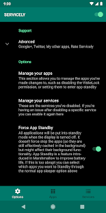 Servicely - for your battery life Screenshot