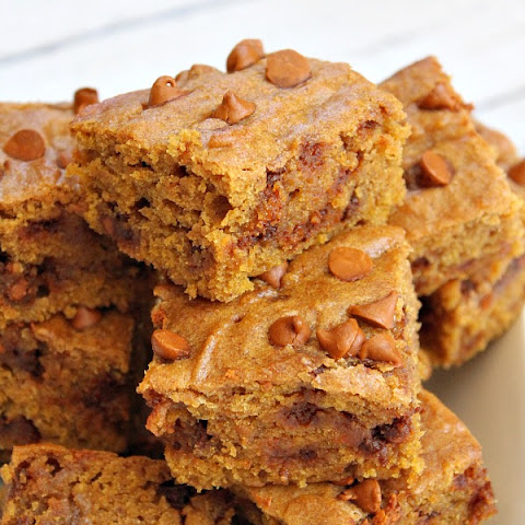 Golden Cinnamon- Pumpkin Bars