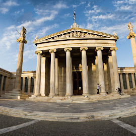 The Marble building - Athens by Antony Antoniou - Buildings & Architecture Public & Historical ( greece, athens, building )