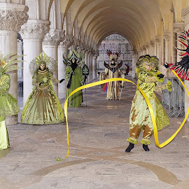 Venetian carnival by Branko Frelih - People Street & Candids