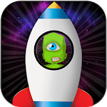 Alien Galaxy Jump : Space Icon