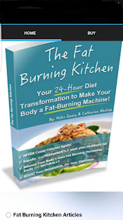 Fat Burning Kitchen - screenshot