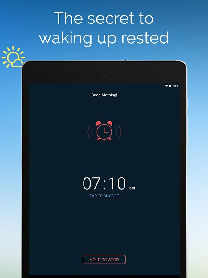 Good Morning Alarm Clock Screenshot 8
