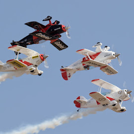 Pitts Special by Louis Pretorius - Transportation Airplanes