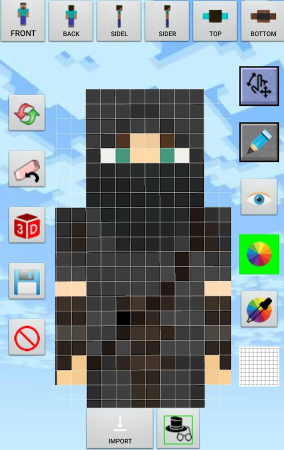 Skin Creator Minecraft Pro Screenshot 2