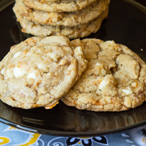 Butterfinger White Chocolate Chip Cookies