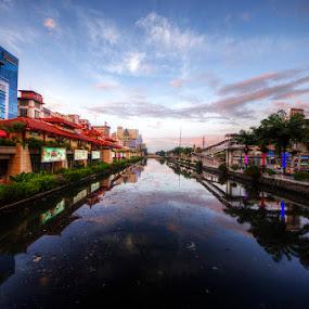 Beautiful Dirty River by Kresnata Adijaya - City,  Street & Park  Markets & Shops