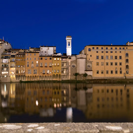FIRENZE by Deividi Correa - Landscapes Travel ( lights, firenze, night, travel, italy )