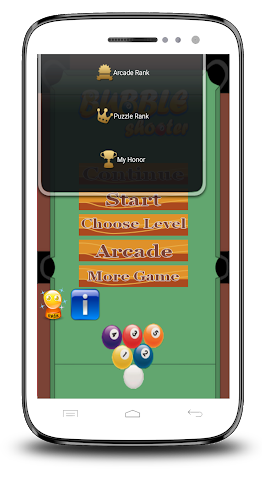 android Piscine 8 Ball Shooter Screenshot 1