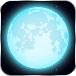 Moon Phases – Lunar Eclipse Calendar Widget Icon