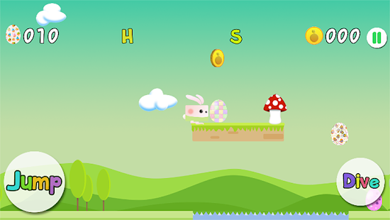 Easter Egg Bunny Runner - screenshot