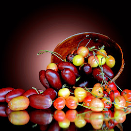 Cherry n date by Asif Bora - Food & Drink Fruits & Vegetables