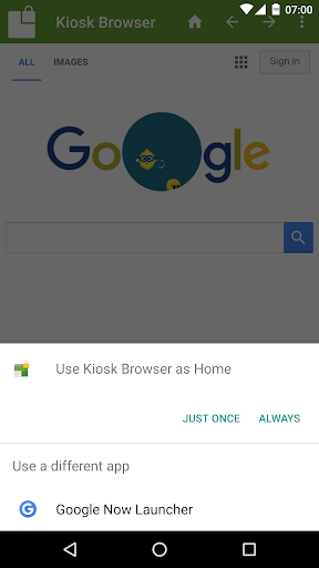Kiosk Browser Lockdown - screenshot