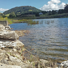 Chill Factor 26° by Makereta Brown - Landscapes Travel ( limestone, public reserve, quarry, yvonne stewart reserve, northland, whangarei, floodplain, new zealand, relax, tranquil, relaxing, tranquility )