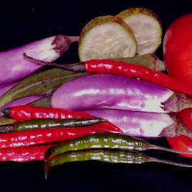 CHILLY VEG by SANGEETA MENA  - Food & Drink Ingredients