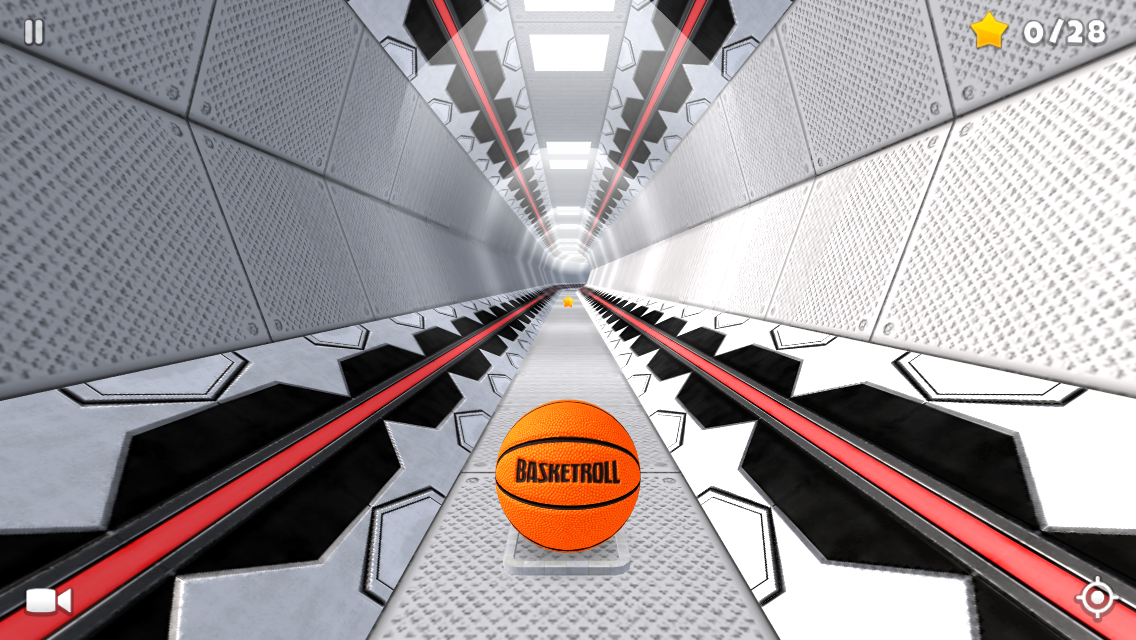 BasketRoll 3D: Rolling Ball Screenshot 4