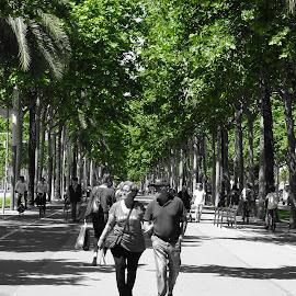 Barcelona  by Ahmed Elfekhfakh - Landscapes Travel ( nature, street, landscape, people, city )