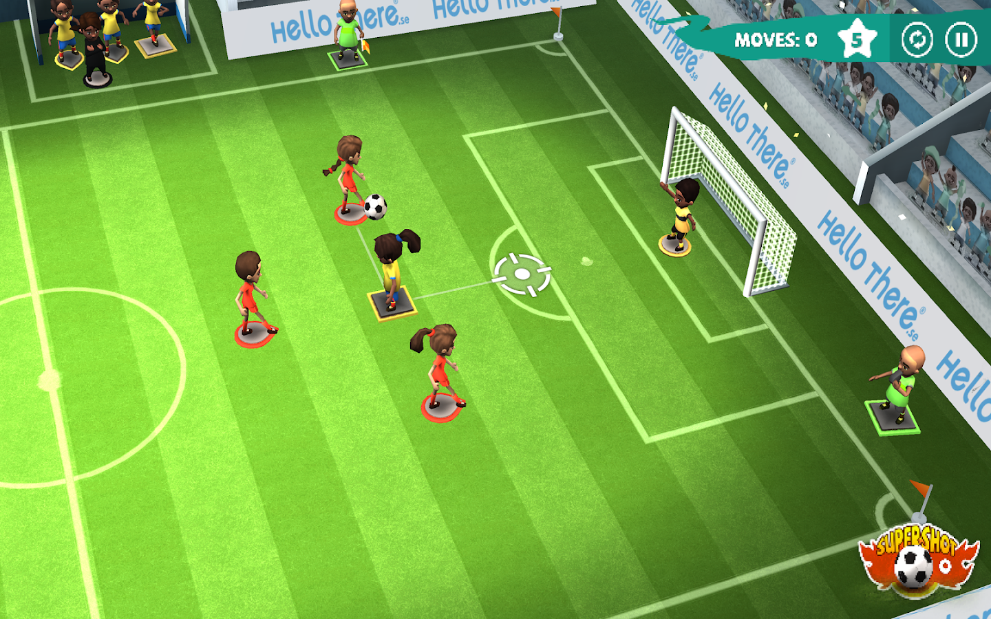 Find a Way Soccer: Women's Cup Screenshot 8