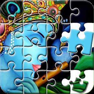 Radha Krishna Games : Gopi Krishna Jigsaw Puzzle For PC (Windows & MAC)