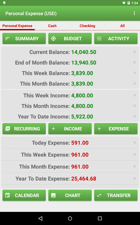 Expense Manager Pro Screenshot 16