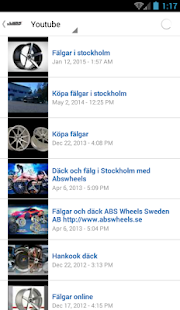Däck och fälg - ABS wheels - screenshot