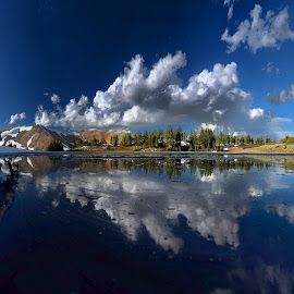 by Savon Wyant - Landscapes Cloud Formations
