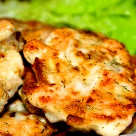 Chicken Cutlets With Mushrooms