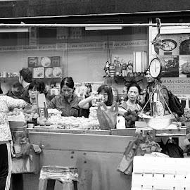 by Harold Stoler - City,  Street & Park  Markets & Shops ( market, everyday, candid, documentary, street photography )