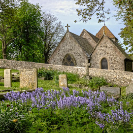Telseombe church sussex  by Mark West - Buildings & Architecture Places of Worship