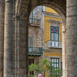 Arches in Cuba by Gwen Paton - Buildings & Architecture Architectural Detail ( arch, buildng, architecture, havana, cuba )