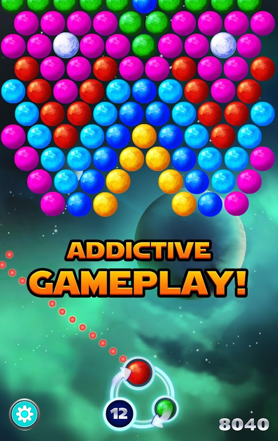 Bubble Shooter Supernova Screenshot 1