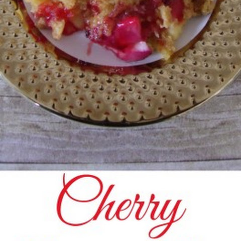 Cherry Cheesecake Dump Cake