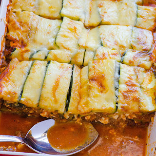Clean Eating Zucchini Lasagna