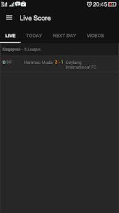 Live Scores: Football/Soccer - screenshot