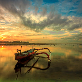 Morning Blast by Ade Irgha - Transportation Boats