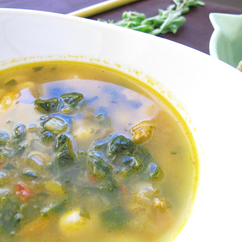 Smoky Kale and White Bean Soup