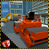 City Road Construction Sim APK for Bluestacks