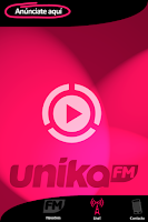 Screenshot of Unika FM Live