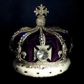 Queen Alexandra's crown by Sámuel Zalányi - Artistic Objects Jewelry ( tower, alexandra's, london, crown jewels, queen, crown,  )