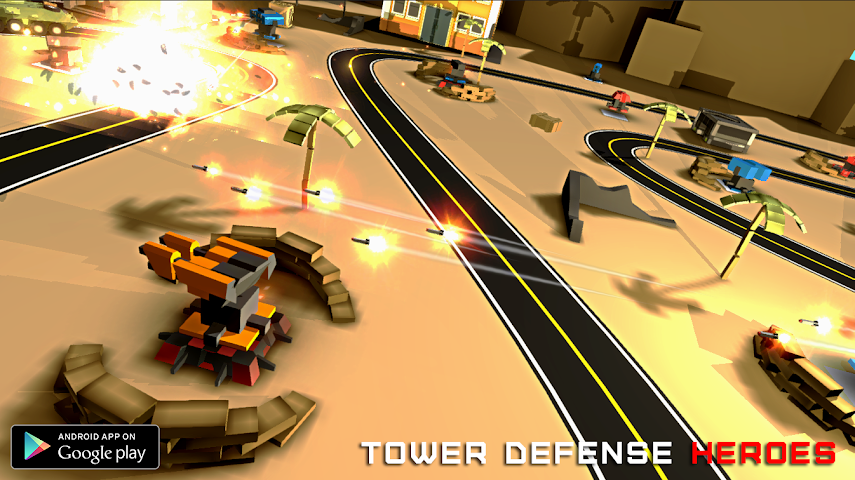 android Tower Defense Heroes Screenshot 2