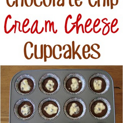 Chocolate Chip Cream Cheese Cupcakes