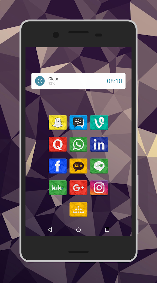 Rectron Icon Pack Theme Screenshot 2